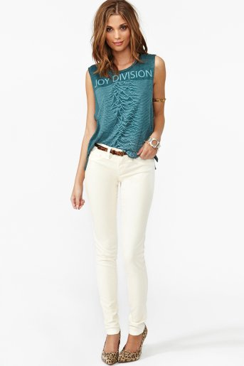 Dream Skinny Jeans - Cream