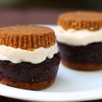 S'mores Cupcake Ice Cream Sandwiches | 52 Kitchen Adventures