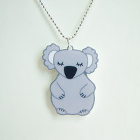 Cute Koala Bear Acrylic Laser Cut N.. on Luulla