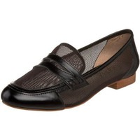 Candela N.Y.C. Women`s Perfo Loafer,BLACK,8.5 M US