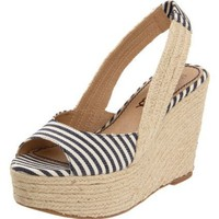 Splendid Women`s Perfect Wedge Sandal,Denim,5 M US