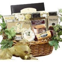 SCHEDULE YOUR DELIVERY DAY - Grand Edition Gourmet Food Gift Basket - Medium - A Great Idea for Fathers Day!
