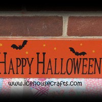 Happy Halloween Sign to greet your trick or treaters
