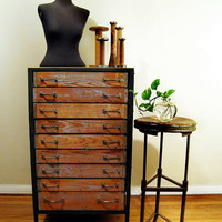 Industrial Hardware Cabinet by twentytimesi on Etsy