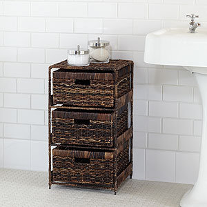 Madras 3-Drawer Tower