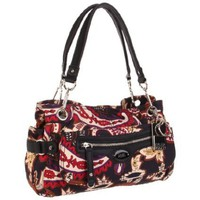 Tyler Rodan Women`s Simple TR06705 Satchel,Fall Paisley,One Size