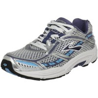 Brooks Women`s Dyad 6 Running Shoe,Faded Denim/Silver/Alaska Blue/White,9.5 B(M) US