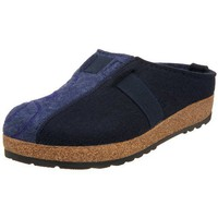 Haflinger Women`s Magic Clog,Navy/Denim,39 EU/8 M US