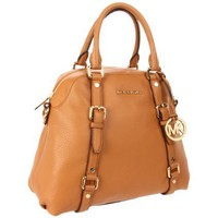 MICHAEL Michael Kors Bedford Satchel,Tan,One Size