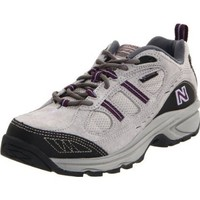 New Balance Women`s WW646 Country Walking Shoe,Grey/Purple,9.5 D US