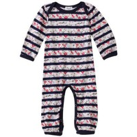Splendid Littles Baby-girls Infant Floral Yacht Stripe Onesuit