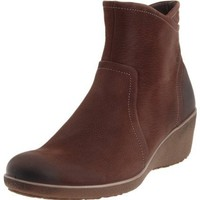 ECCO Women`s Shiver Ankle Boot,Coffee,40 EU/9-9.5 M US