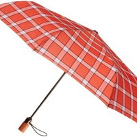 London Fog Women`s Auto Open Close Umbrella