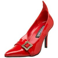 Funtasma by Pleaser Women`s Witch-02 Pump,Red Patent,12 M
