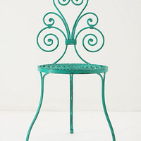 Le Versha Chair, Turquoise