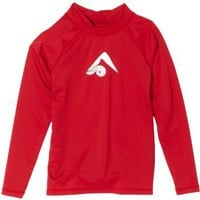 Kanu Surf Boys 8-20 Platinum Long-Sleeve Rashguard