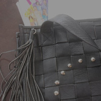 Classic Tote leather bag