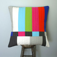 Graphic Throw Pillow - Testing...Testing