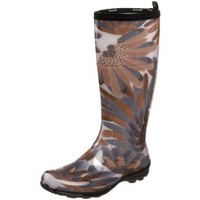 Kamik Women`s Heather Rain Boot,Light Brown,7 M US