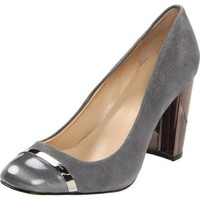 Calvin Klein Women`s Blaine Pump,Anthracite/Grey,6 M US