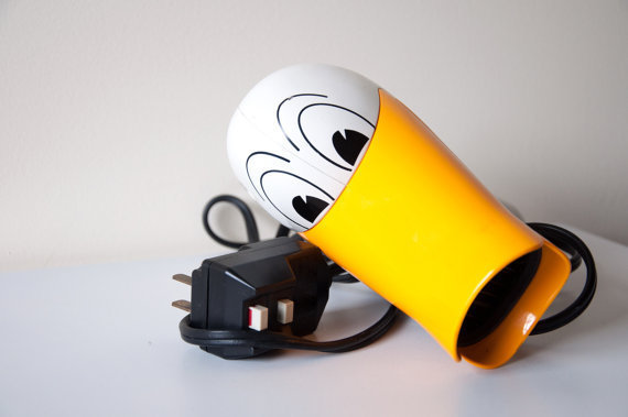 Vintage Novelty Duck Hair Dryer