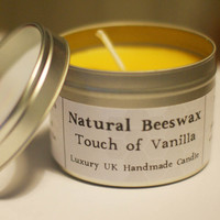 Natural Beeswax Candle - Touch Of V.. on Luulla