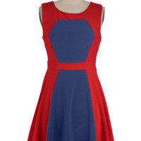 Berry Lemonade Dress in Cherry | Mod Retro Vintage Dresses | ModCloth.com