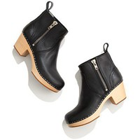 Swedish Hasbeens 877 Zip It Emy Boots