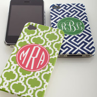Lipstick Shades - Monogrammed iPhone 4 Case - Horchow