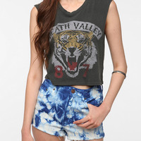 Truly Madly Death Valley Cropped Muscle Tee