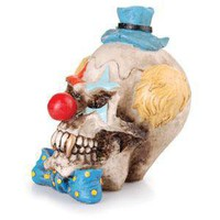 - Clown Skull Polyresin Ashtray - each - Other