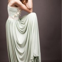 The Goddess Gown | Bridal Dress | Prom clothing dress gown mint | Chic | UsTrendy