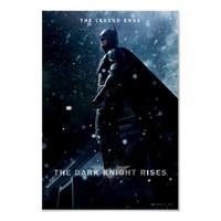 Batman The Legend Ends Print from Zazzle.com