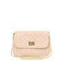 ASOS Nude Quilted Lock Across Body Bag at asos.com