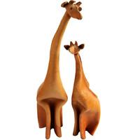 1STDIBS.COM - Sam Kaufman Gallery - Deru - Leather Giraffes by Deru