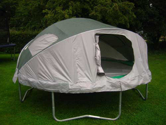 Make Camping Fun With A Trampoline Tent | Incredible Things