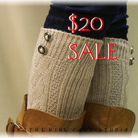 SALE - Evergreen lace boot socks - Simple and elegant - enchanting design at a great price / 8 colors to choose - Catherine Cole Studio
