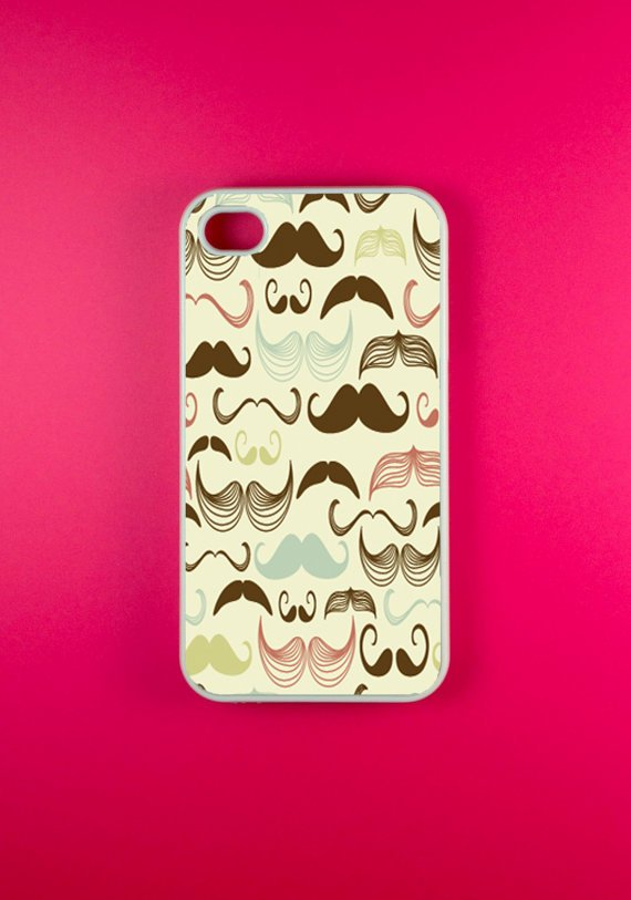 Mustache Iphone 4 Case - Multi Mustaches Iphone 4s Case, Iphone Case