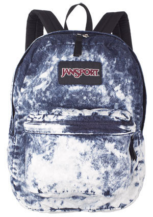 Jansport Acid Blue Denim Daze Backpack