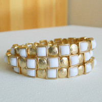 Modern Dor Wrap Bracelet [2867] - $21.00 : Vintage Inspired Clothing &amp; Affordable Summer Dresses, deloom | Modern. Vintage. Crafted.