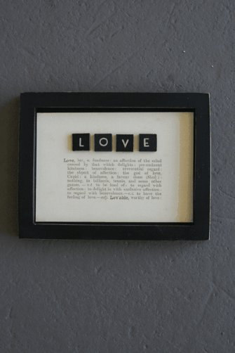 Dictionary Picture - Love