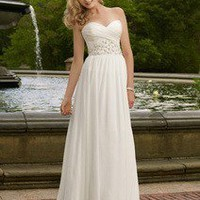 Buy Chiffon Sweetheart Floor Length A Line Gown Style 6703 , from  for $156.62 only in eFexcity.com.