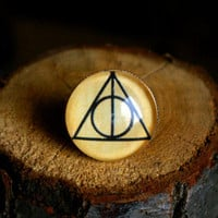 Harry Potter - The Deathly Hallows adjustable ring