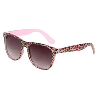Pink Leopard Wayfarer Sunglasses | Shop Accessories at Wet Seal