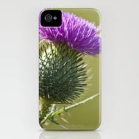 Thistle 2 iPhone Case by Steve Purnell | Society6