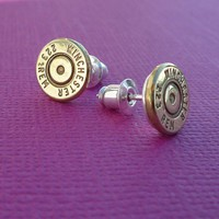 223 winchester remington bullet earrings