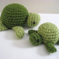 SALE PDF Amigurumi Sea Turtle Patterns by AmyGaines on Etsy