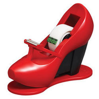 Scotch Tape Dispensers With Magic Tape Red Shoe by Office Depot