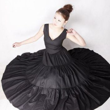 Black dress for women (MM42)