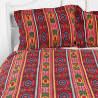 Ikat Stripe Shams - Set of 2